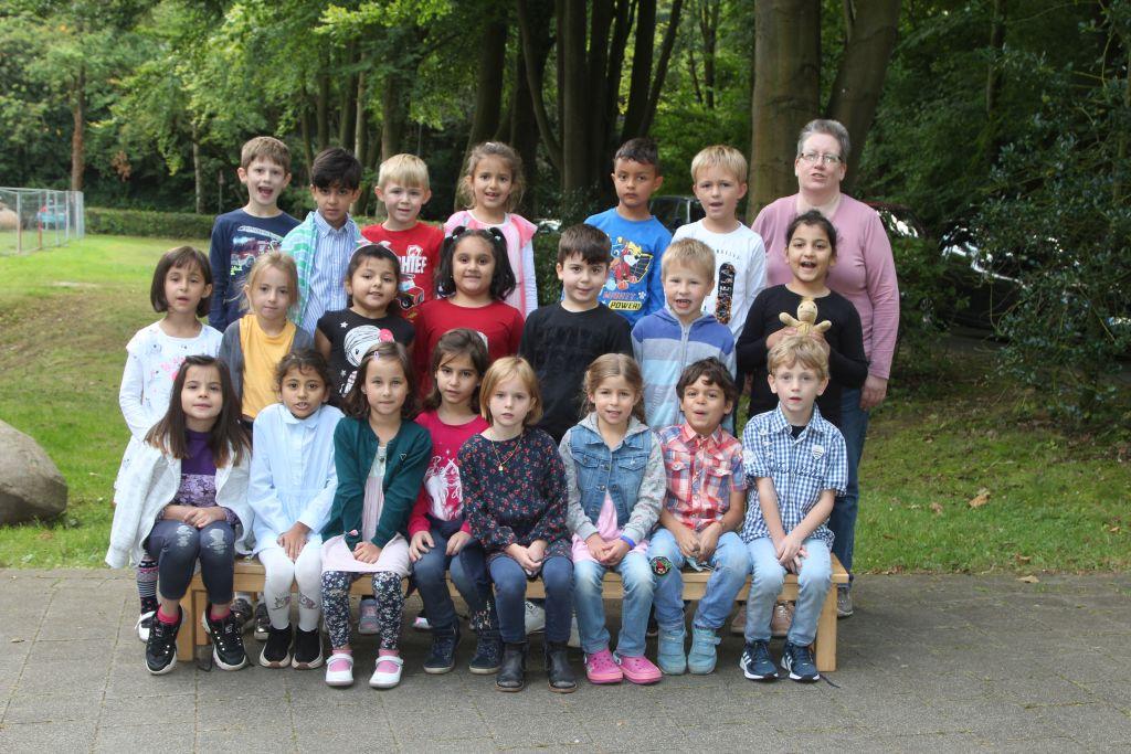 Klasse 1b - Klassenlehrerin Birgit Skott