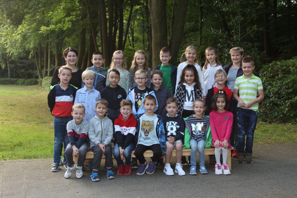 Klasse 2b - Klassenlehrerin Katharina Schaefers