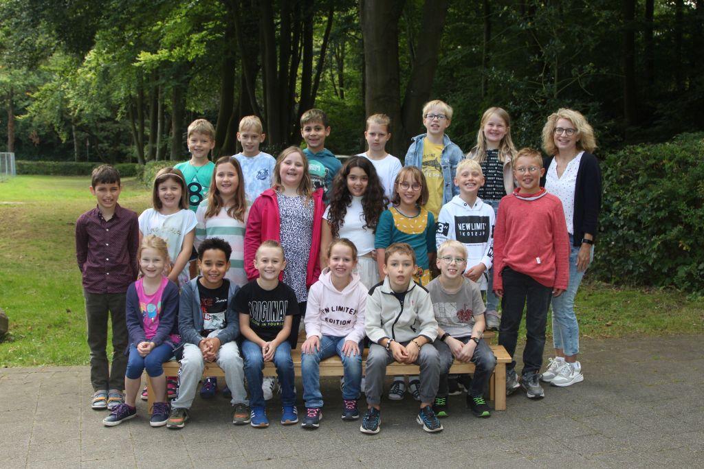 Klasse 3b - Klassenlehrerin Sandra Voigt